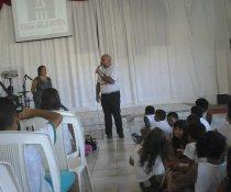 FECHAMENTO DO PROJETO CUIDA DE MIM - EMEF ANTÔNIO V. REZENDE - VESP. 2ª PART.